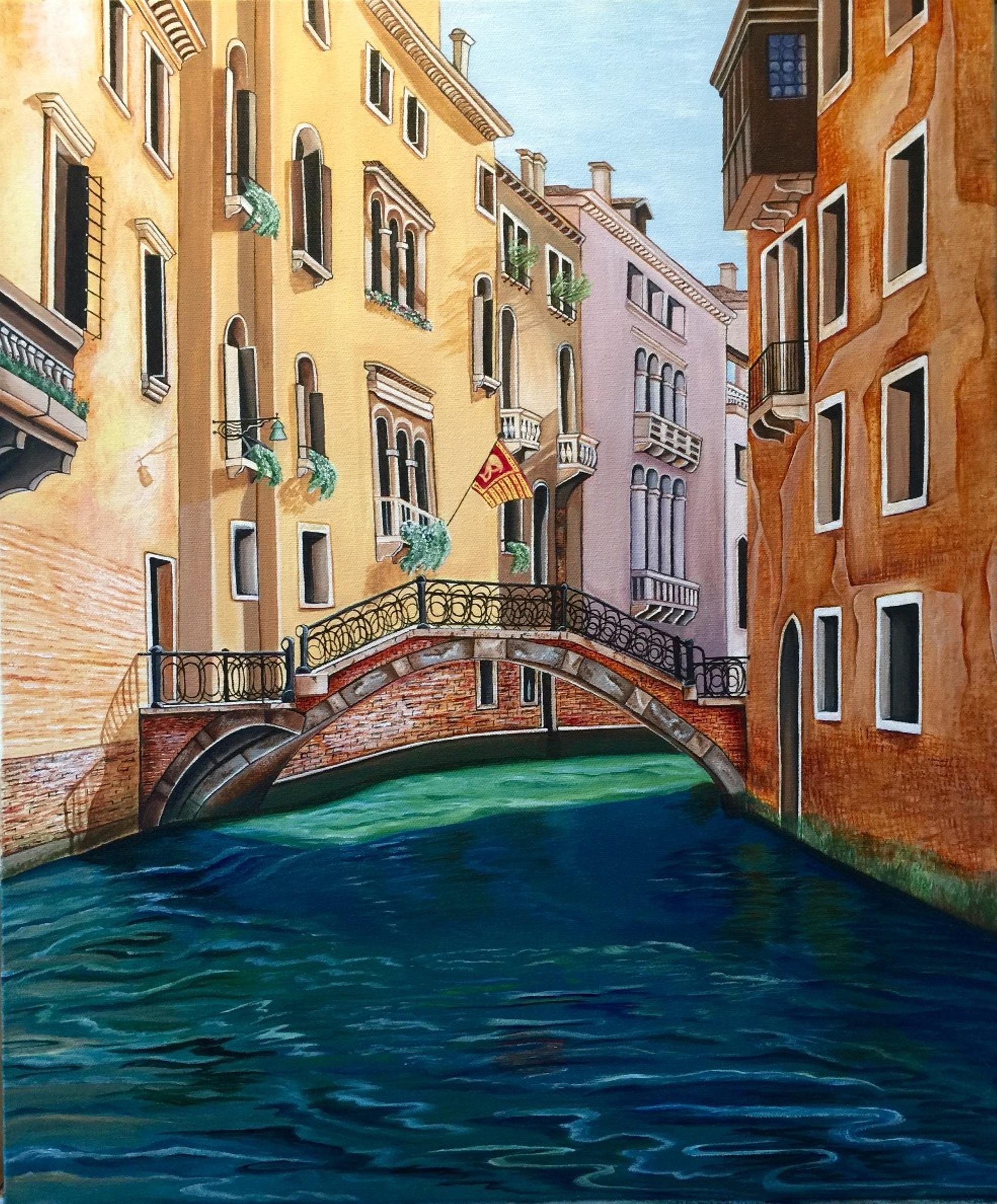 Venice Canal - Natalie Reilly